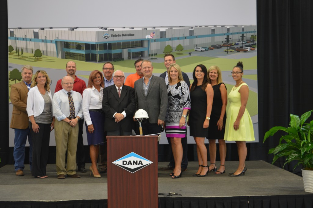 Dana Axle groundbreaking